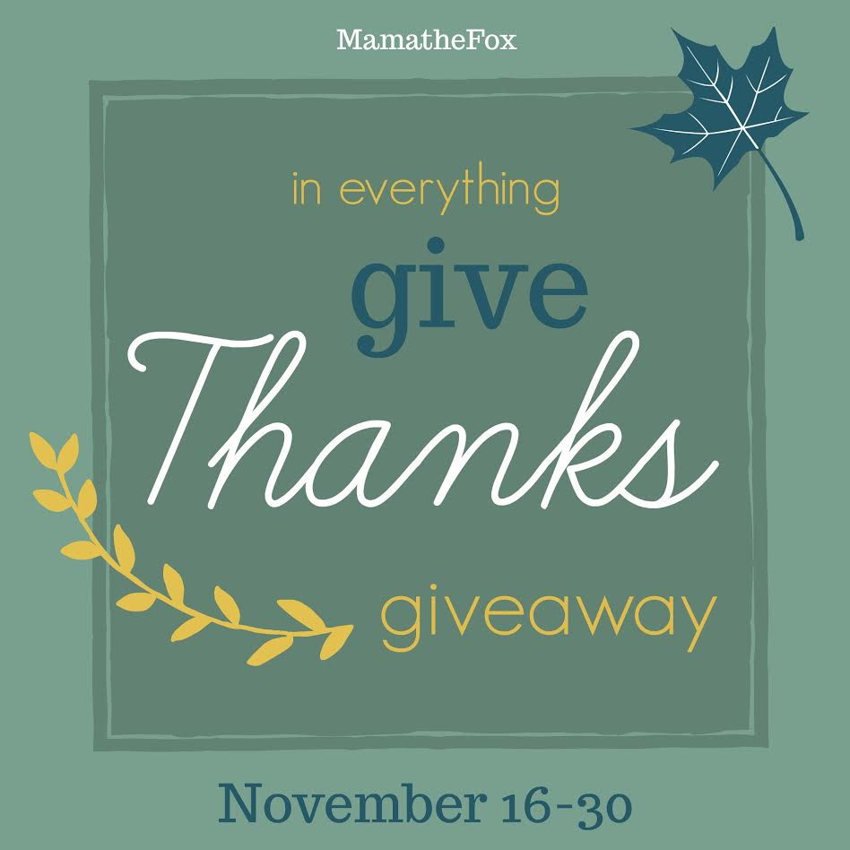 in everything give thanks giveaway hop win a cvs gift card