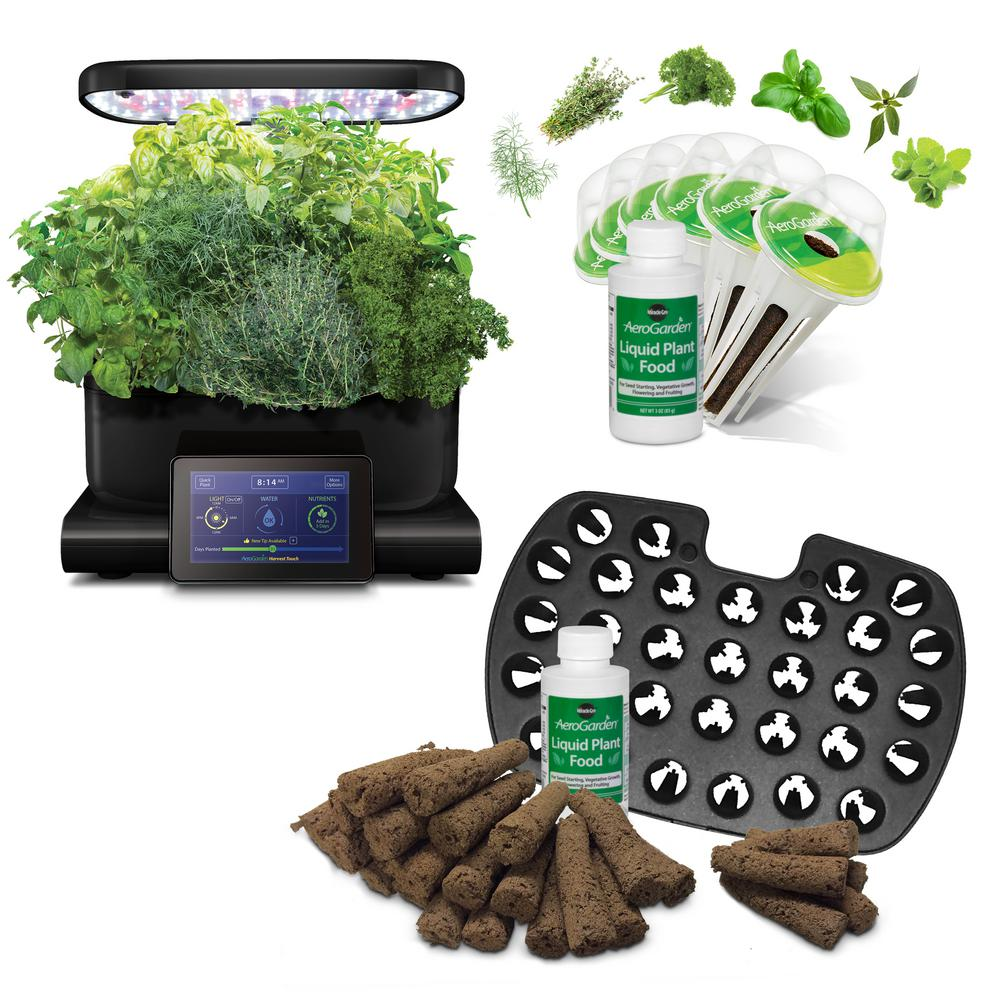Aerogarden Pods Home Depot: Miracle-Gro AeroGarden Harvest Touch ONLY $109.97 Today